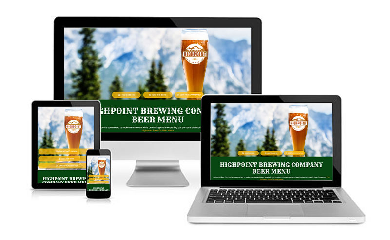 Highpoint Brewing Company Website